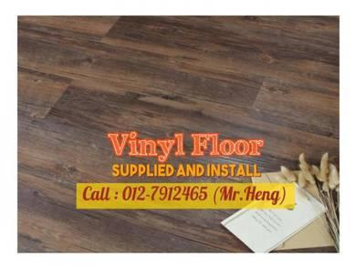 Beautiful PVC Vinyl Floor - With Install 25IH
