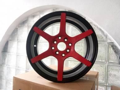 4pcs VOSSEN CV-6 2-tone Design 15 Sport Rim RECOND