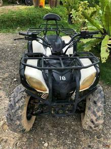 Used ATV in good condition for sell.