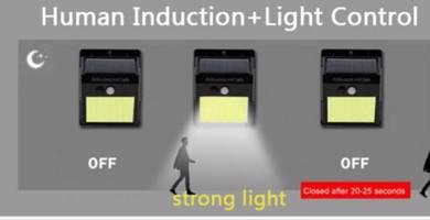 Solar Light PIR Motion Sensor - 20LED