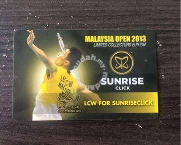 Lee Chong Wei Limited Edition Card