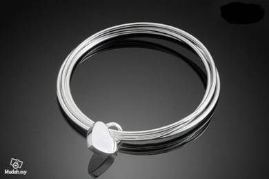Palace Clover female silver bracelet