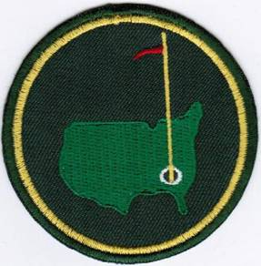 Augusta The US Masters Tournament PGA Golf G Patch