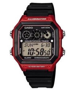 Watch - Casio Chronograph AE1300-4A -ORIGINAL