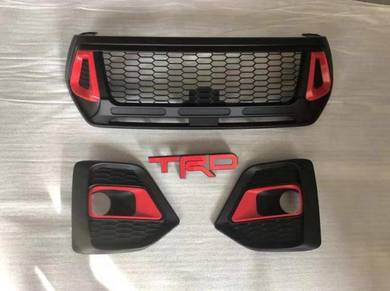 Toyota hilux revo rocco trd front grill grille 2