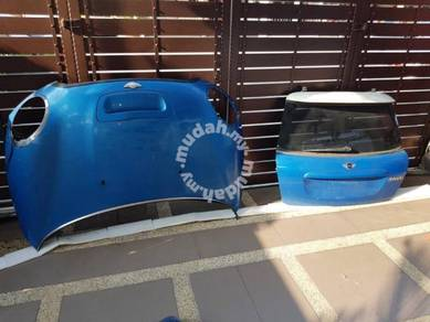 Mini cooper s r56 front rear bonnet side fender
