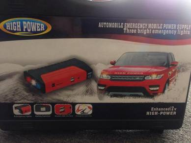 Emergency car jumper start power bank