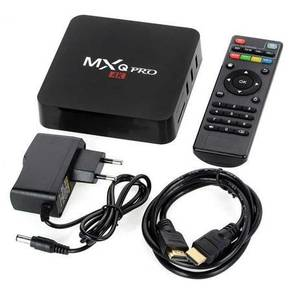 Mx (Warranty set) android tv box decoder 4k