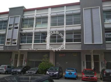 3sty terrace factory, kawasan perindustrion bukit raja, shah alam