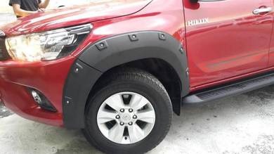 Toyota hilux revo big fender arch PP MATERIAL