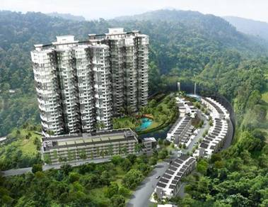 Crystal creek condo#fully furnish#new#for rent#taiping