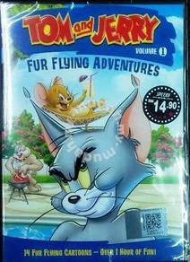 DVD CARTOON TOM & JERRY Fur Flying Adventures