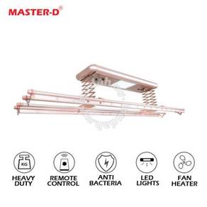 MD Ceiling Mounted Electric Motorized Clothes Rack