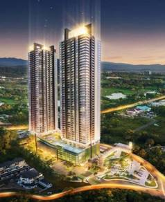 Jesselton Twins Tower 2 Bedrooms 2Bathrooms Luyang Damai