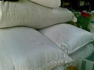 Dedak padi kasar untuk ternakan itik ayam AA