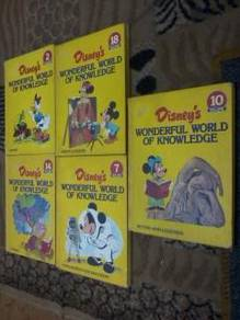 5 buku disneys wonderful world of knowledge