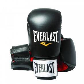 EVERLAST boxing glove SIZE 12 oz BLACK (HITAM) NEW