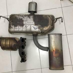 Exhaust and tabung untuk dijual For sale
