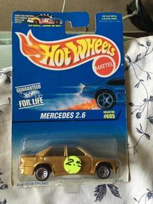 Hotwheels Mercedes 2.6