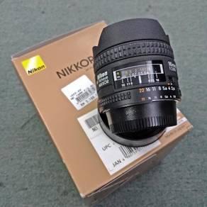 Nikon Fisheye F2.8 16mm