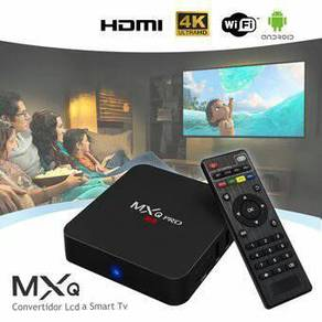 (FULLHD BARU) Mx 4k android tv decoder box