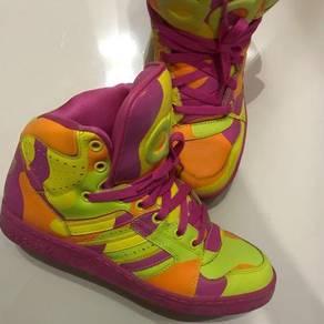 Adidas x jeremy scott instinct hi neon camo
