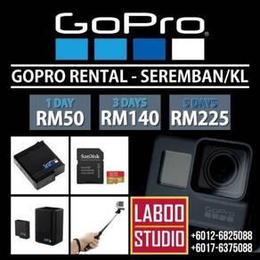 GoPro Hero 6 Black For Rental - Seremban/KL
