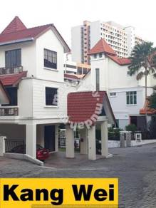 Asia Hills Bungalow CORNER House Renovated_Land : 5352SF_Bukit Jambul