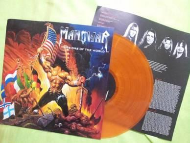 Manowar WARRIORS OF THE WORLD 2002 LP Nuclear Blas
