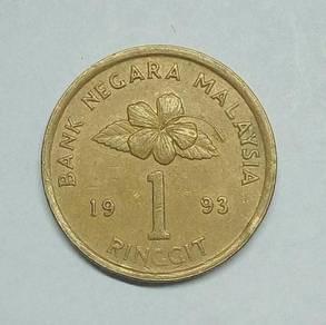 RM1 MALAYSIA 1993 - Wc325