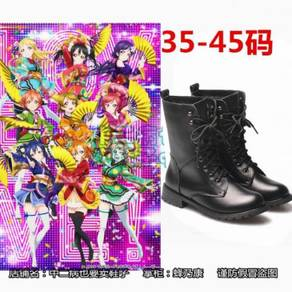 Love live cosplay shoes Martin boots