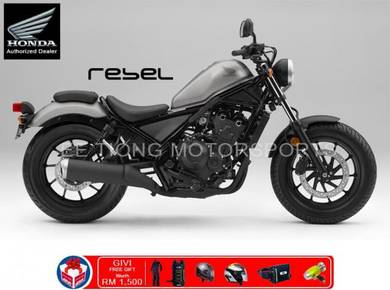 Honda Rebel 500 471cc 45HP New Year Promotion
