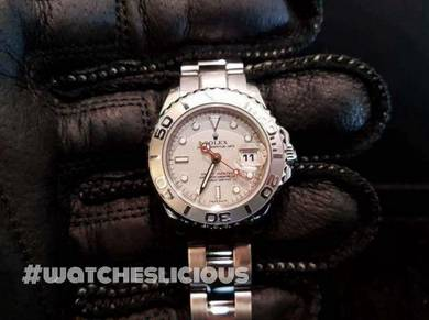 PREOWNED ROLEX YATCHMASTER, 169622, ROLESIUM Plat