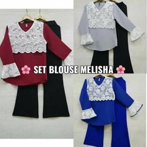 Set blouse melisha