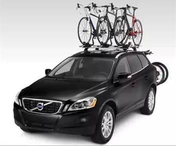 Bicycle roof rack carrier