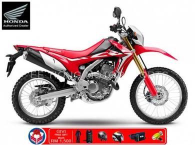 Honda CRF250L 249cc 22HP New Year Promotion