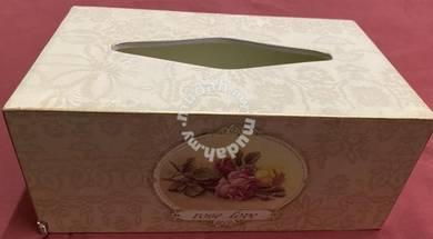 Wooden tissue holder - Rose Love cantik