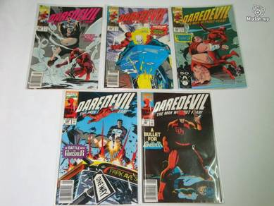 DAREDEVIL. issue 288-290, 292-296. 1-set