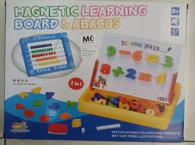 Magnetic Learning Board & Abacus Preschool