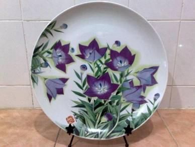 Pinggan decor floral platter plate Sone China