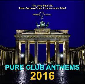 IMPORTED CD Pure Club Anthems 2016 3CD