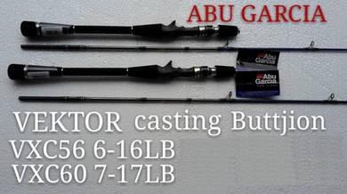 New Abu Garcia Vektor BC Fishing Rod Joran Pancing