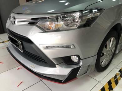 Toyota Vios 13 18 Drive 68 Bodykit Body kit skirt