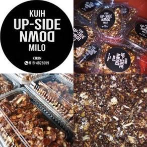 Kuih Up-Side-Down Milo