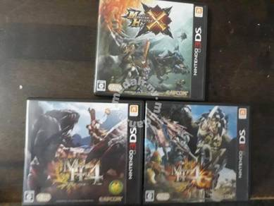 Monster hunter & 3ds LL for sell