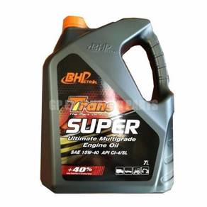 Bhp trans super engine oil sae15-40 7 liter