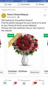 Florist Centre Delivery Included