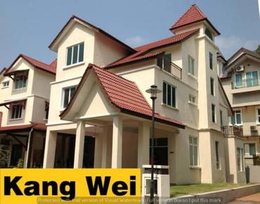 ASIA HILLS 3 Storey BUNGALOW House - Gated & Gaurded - Bukit Jambul