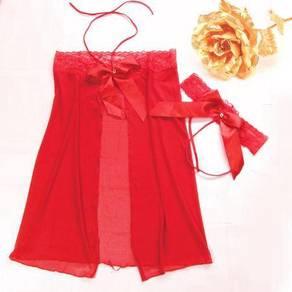 L142 Sexy Lingerie Intimates Dress Robe Underwear