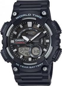 Watch- Casio Telememo AEQ110W-1A -ORIGINAL